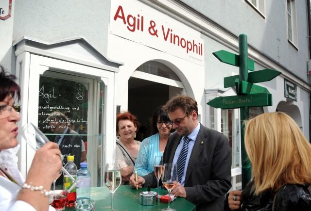 Agil und Vinophil in Bad Ischl