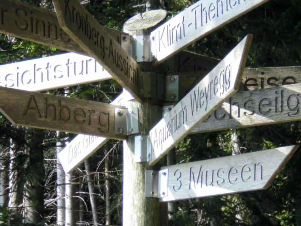 Wegweiser Keltenbaumweg
