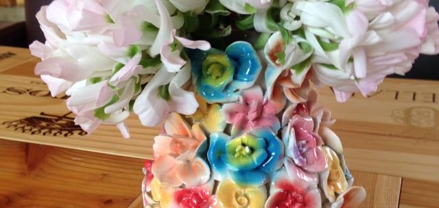 Blumenvase Doll