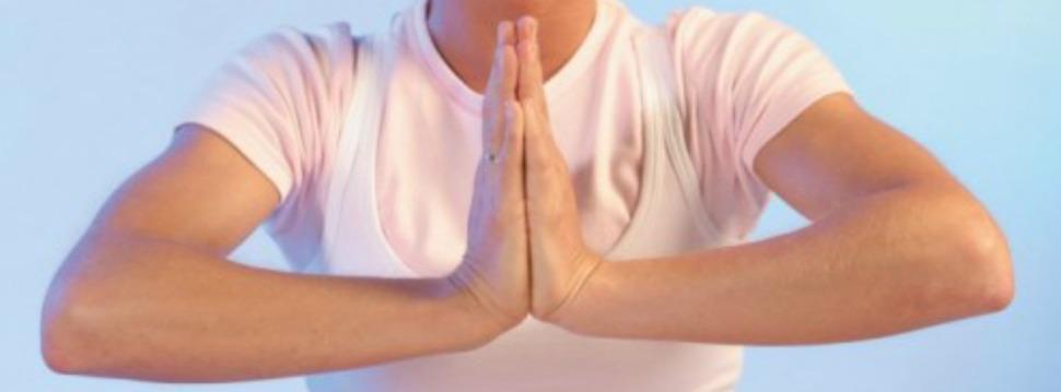 Bethaltung Hände