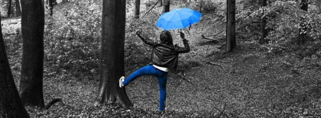 Tanzen im Regen