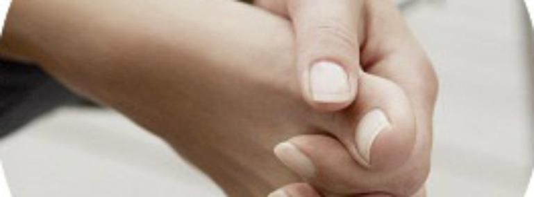 Yoga für Zehen und Finger