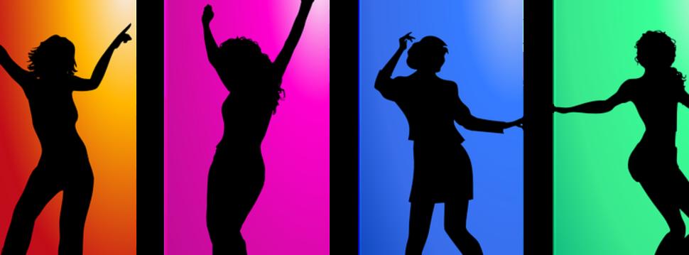 Tanzende Schattten
