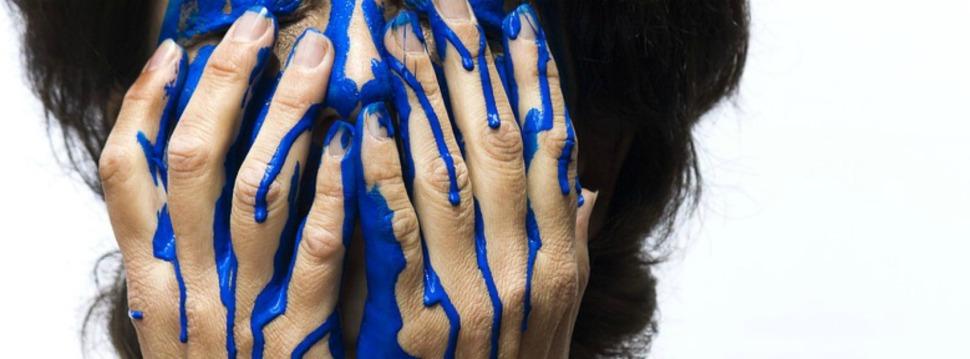 Farben im Gesicht