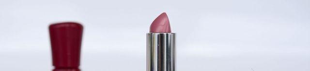 Lippenstift mittig