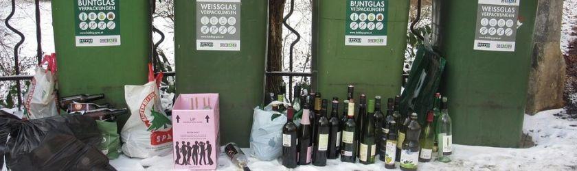 Müll Vandalismus