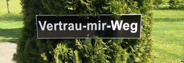 Wanderweg nach Abtsdorf II