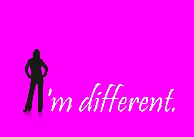 Ich bin anders
